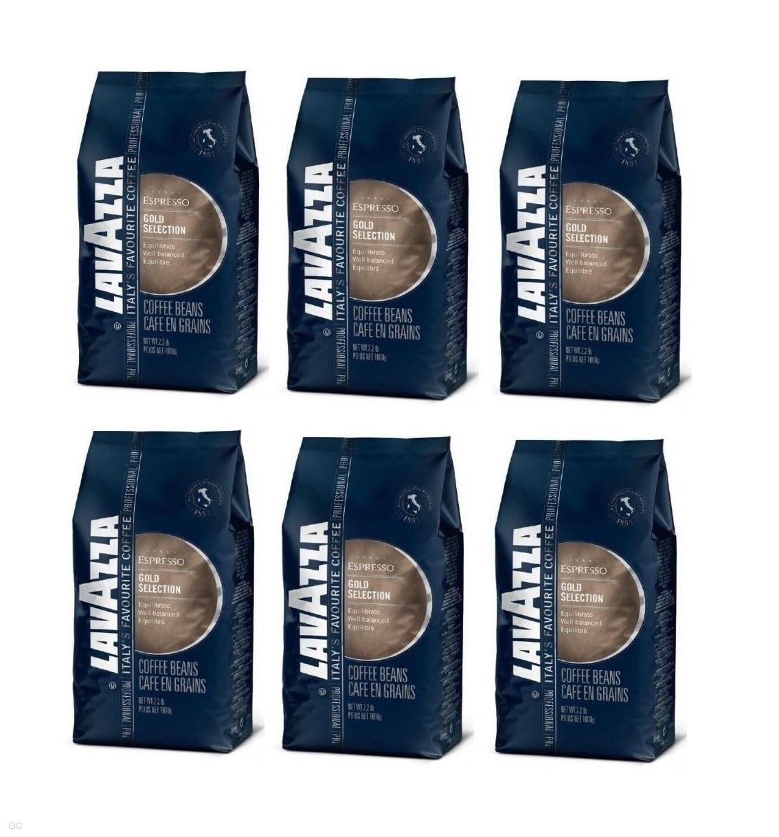 Lavazza Gold Selection - 6x1kg, zrnková káva