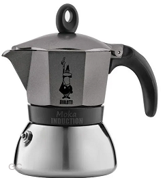 Bialetti Moka Induction Antracit 3 porce