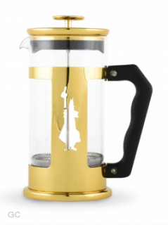Bialetti Frenchpress zlatý 350ml
