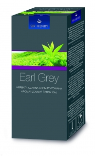 Čaj Sir Henry Earl Grey 25ks