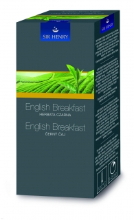 Čaj Sir Henry English breakfast 25ks